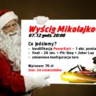 Wyścig Mikołajkowy – 07/12 godz. 20:00